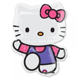 Шар фольга фигура Hello Kitty