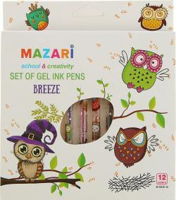 Гелевые ручки 12цветов ( в коробке )