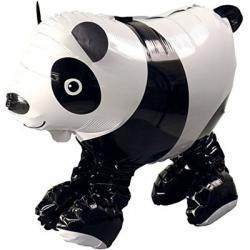 Шар фольга фигура ходячая Мишка панда, 53 см х 46 см