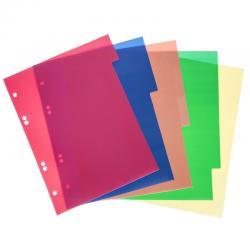 Разделитель цветной А5 (Полипропилен)