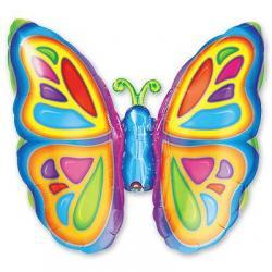Шар фольга фигура Бабочка