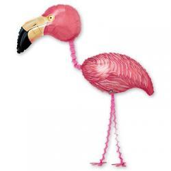 Шар фольга ходячий Фламинго, 165 см