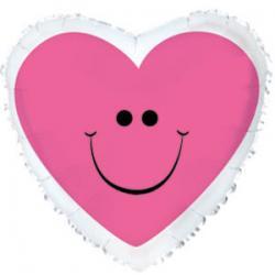 Шар фольга фигура Сердце
