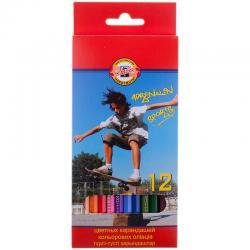 Цветные карандаши биг 12 цветов