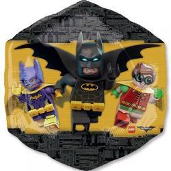Шар фольга Лего Бэтмен, 58 см х 55 см
