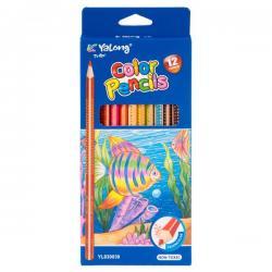 Цветные карандаши Yalong Color Pencils 12цв