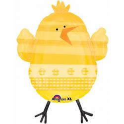 Шар фольга фигура Цыпленок, 65см, арт. 15299