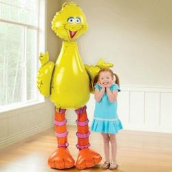 Шар фольга фигура ходячая Птица большая, 82х157см