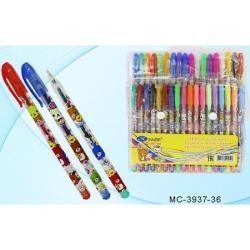 Гелевые ручки 36цветов